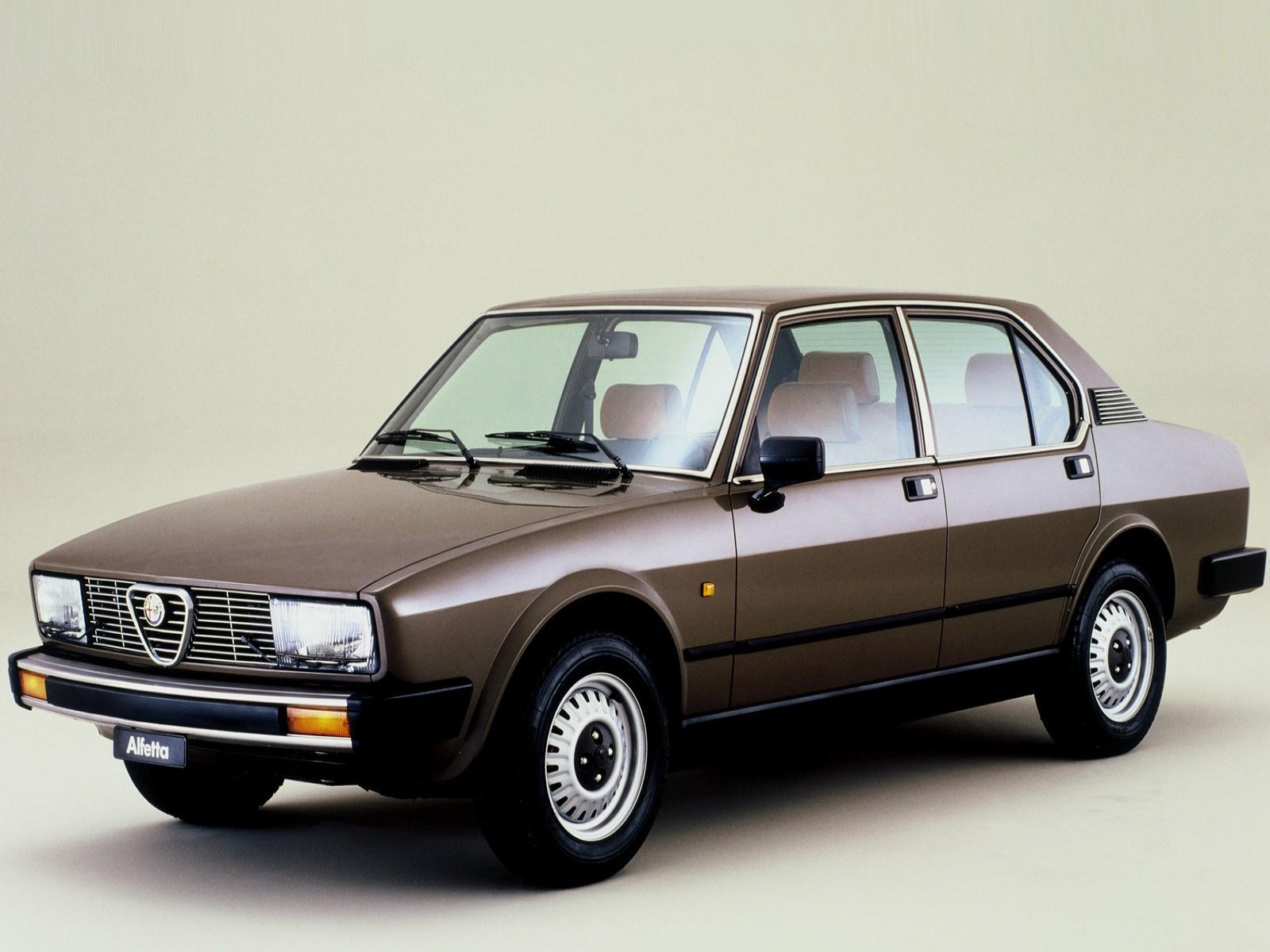 1982 Alfa Romeo Alfetta 2.0