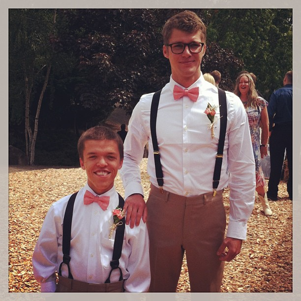 Keeping up with the roloff family jacob muellers wedding at roloff zach and jeremy junglespirit Choice Image