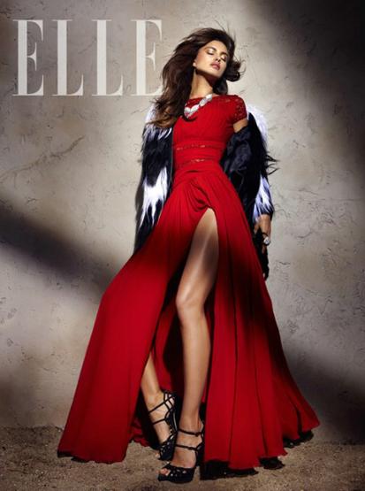 Irina Shayk para Elle