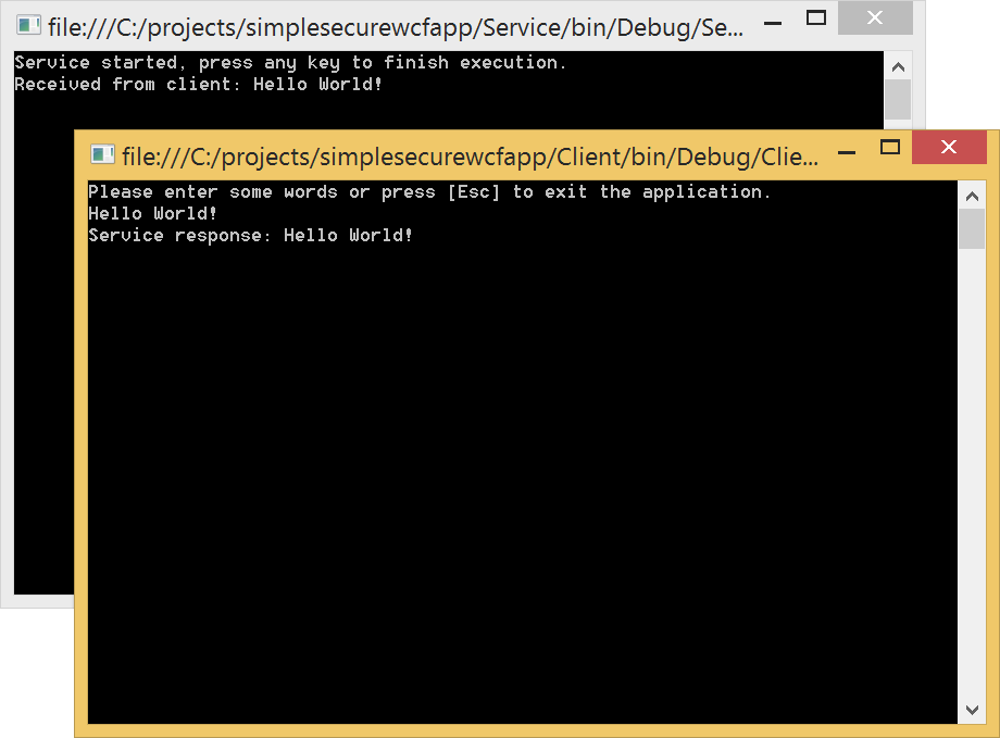 Daniel\'s Blog: How to secure a WCF web service using ...