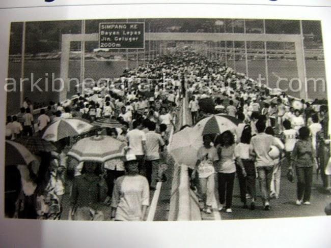 KEtahui Kisah Gambar Paling RARE Jambatan Pulau Pinang Pada Tahun 1985