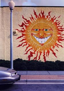Art on a wall
