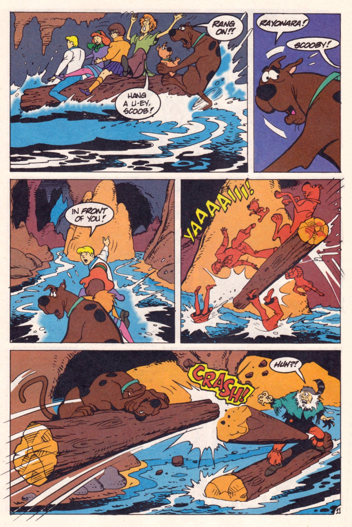Read online Scooby-Doo (1995) comic -  Issue #12 - 13