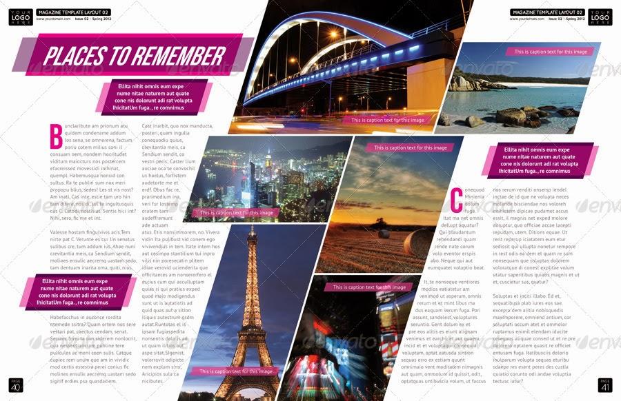 magazine design brief