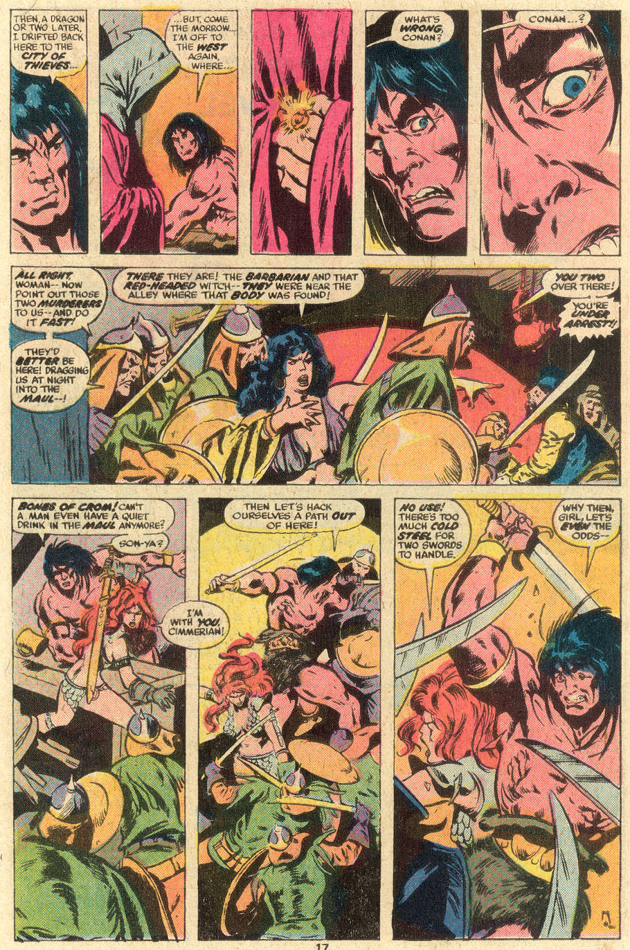 Conan the Barbarian (1970) Issue #78 #90 - English 12