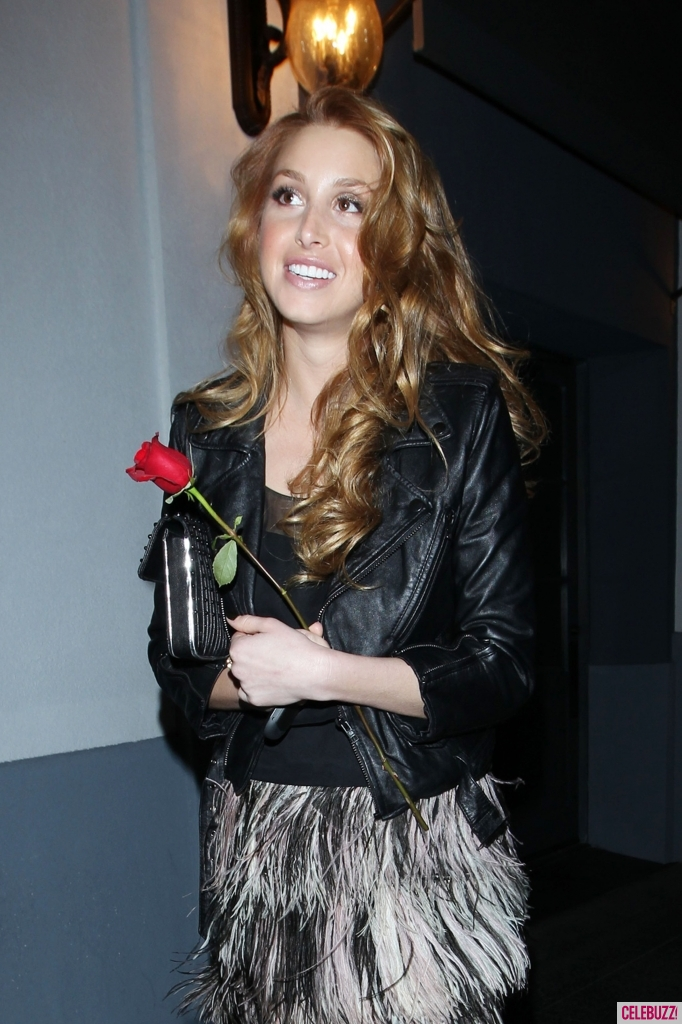 whitney port hair colour. Whitney Port - new hair color