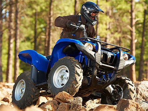 2013 Yamaha Grizzly 450 Auto 4x4 EPS ATV pictures. 480x360 pixels