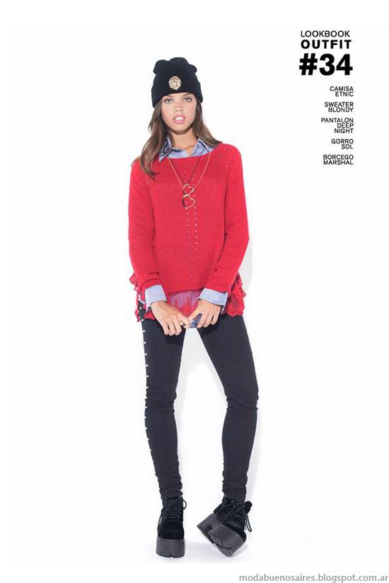 Moda ropa de marca 47 Street otoño invierno 2014.