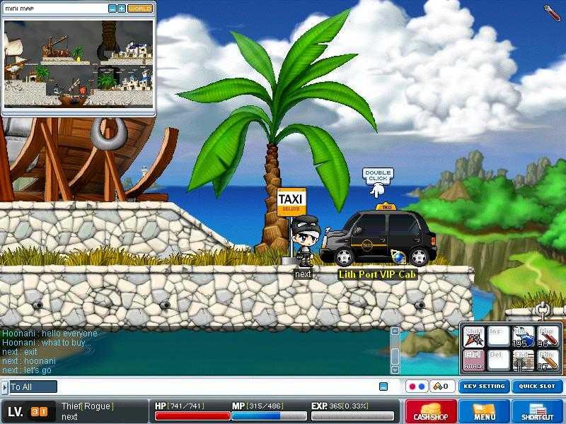jogo MapleStory game online