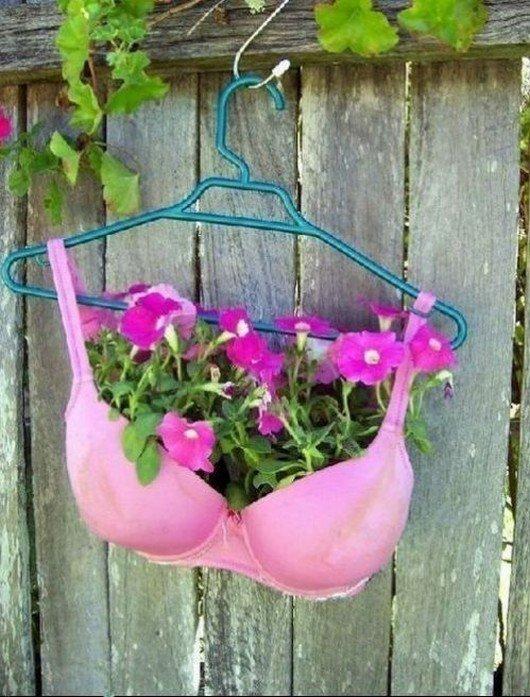 sutia, criatividade, flores, eu adoro morar na internet