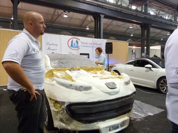 Happiness is... Durban Good Food & Wine Show 2014 - Peugeot and Meals on Wheels