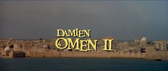 Damien Omen II title screen