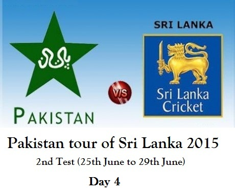 pak vs SL test 2 day 4