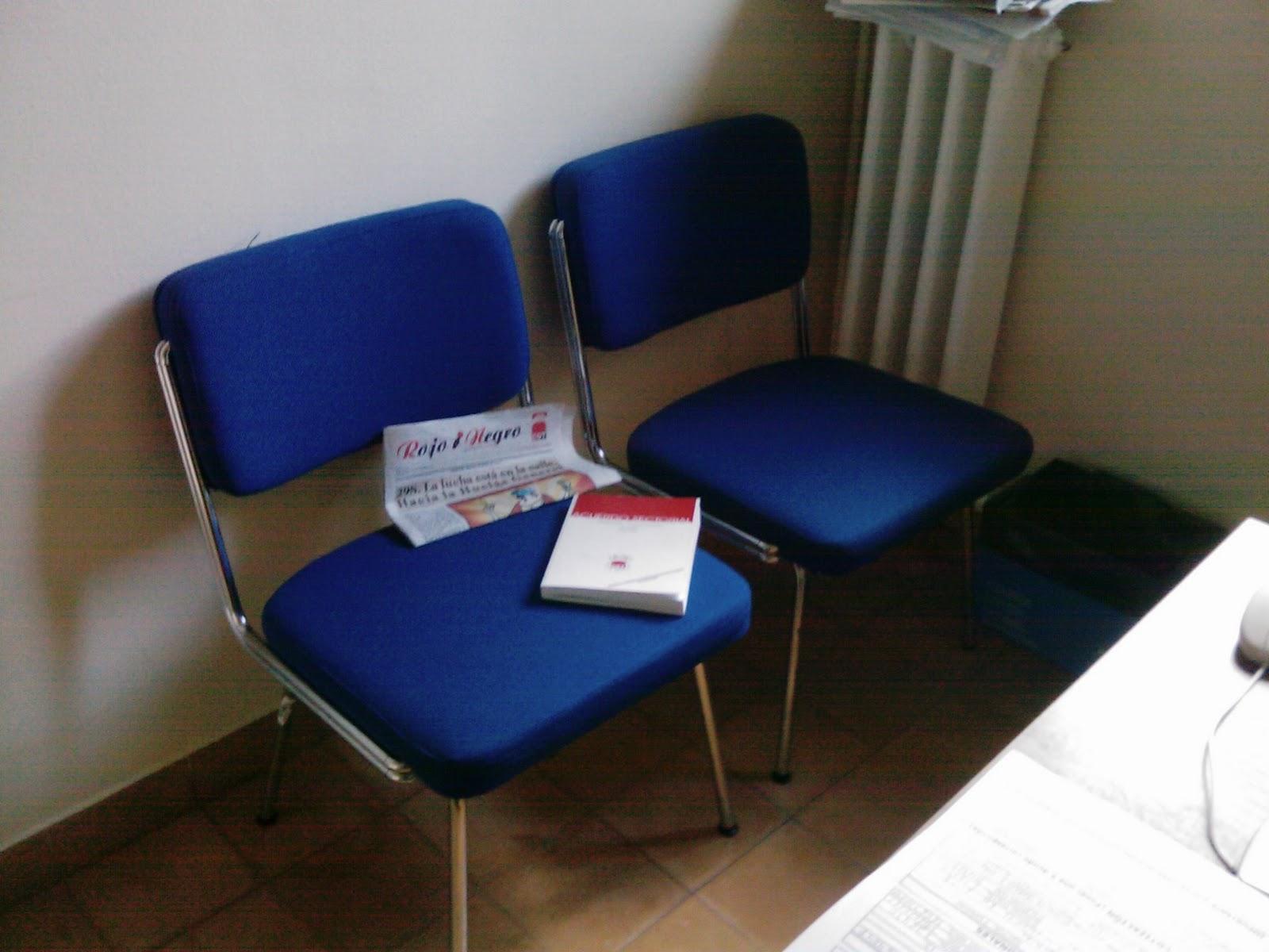 Impresiones desde sierra noroeste de madrid las sillas for Sillas para hospital