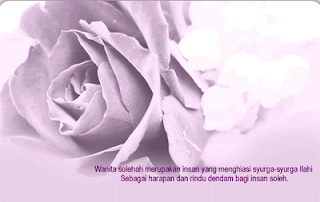 Ku akan menjaga maruahku sentiasa sepert bunga y kembang harum ya