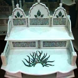 "Handicrafts Marble Temple with Inlay by Anand Marble Handicrafts - Promotional Campaign by ""Kind Attention""."