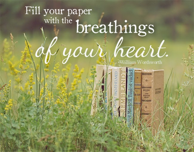 The Breathings of Your Heart Quote | Denise on a Whim