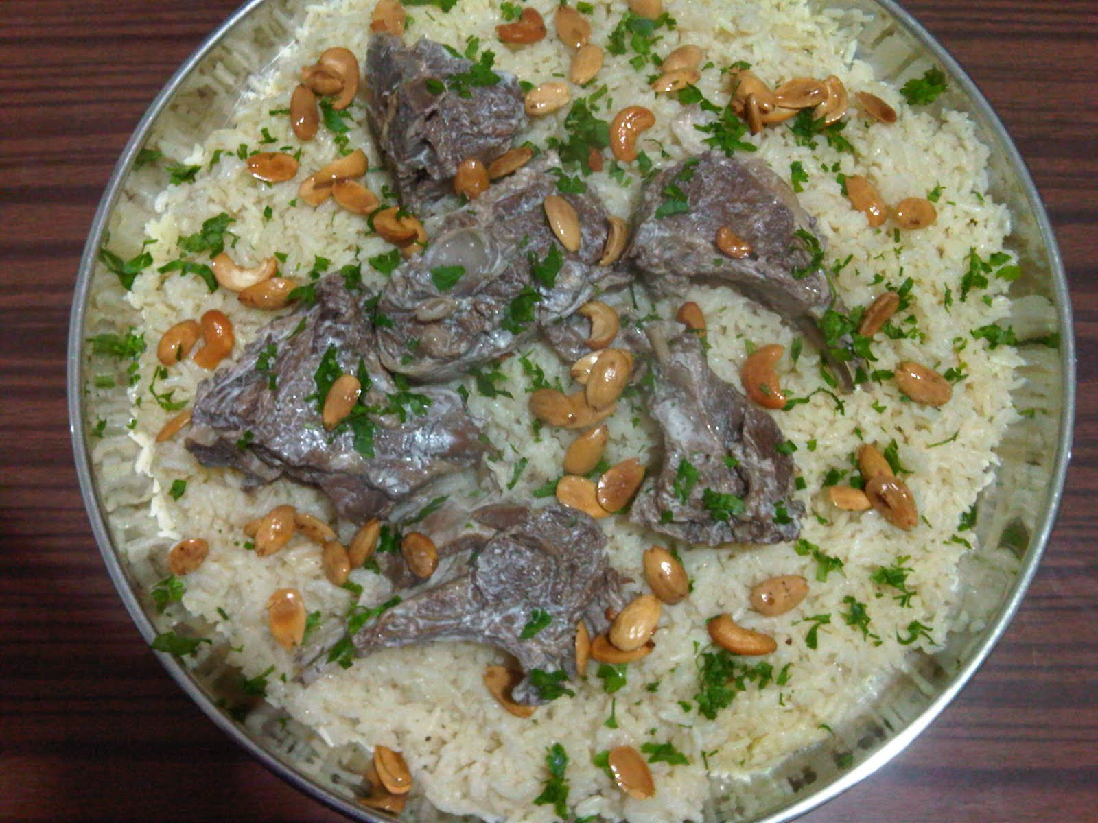 Jordanian Food The Tower of Babel: MA...