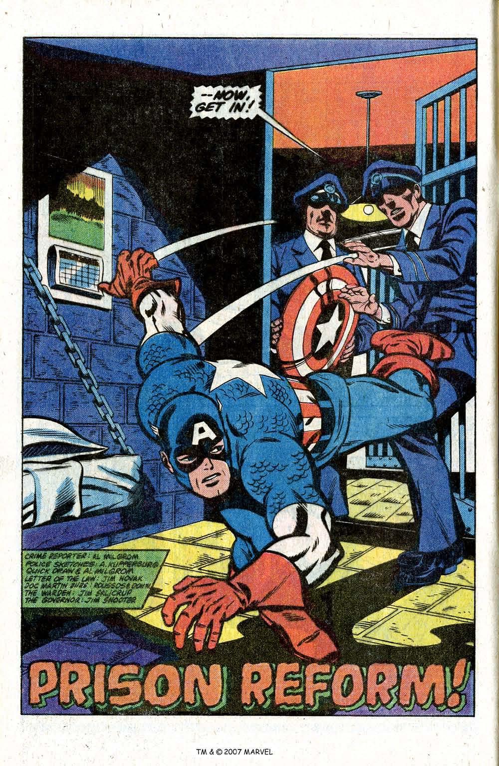 Captain America (1968) Issue #260 #175 - English 4