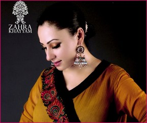 Zahra Khayyam Eid Collection 2012