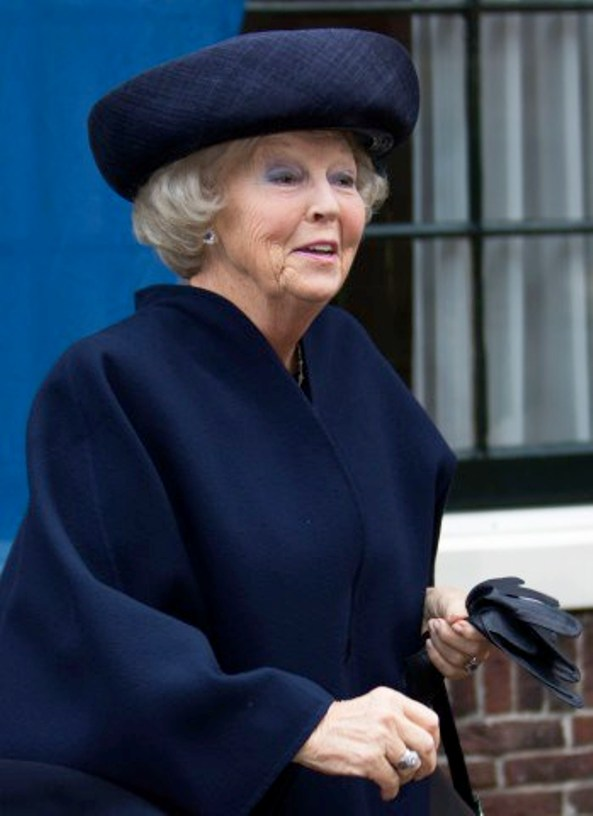 Princess Beatrix Attended An Anniversary And An Exhibition