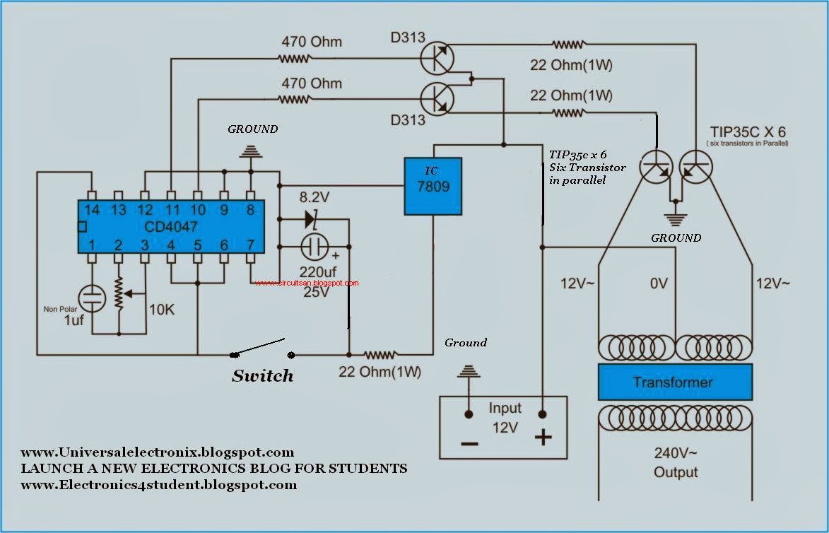 Super circuit diagram simple 500 watt inverter circuit diagram simple 500 watt inverter circuit diagram swarovskicordoba Gallery