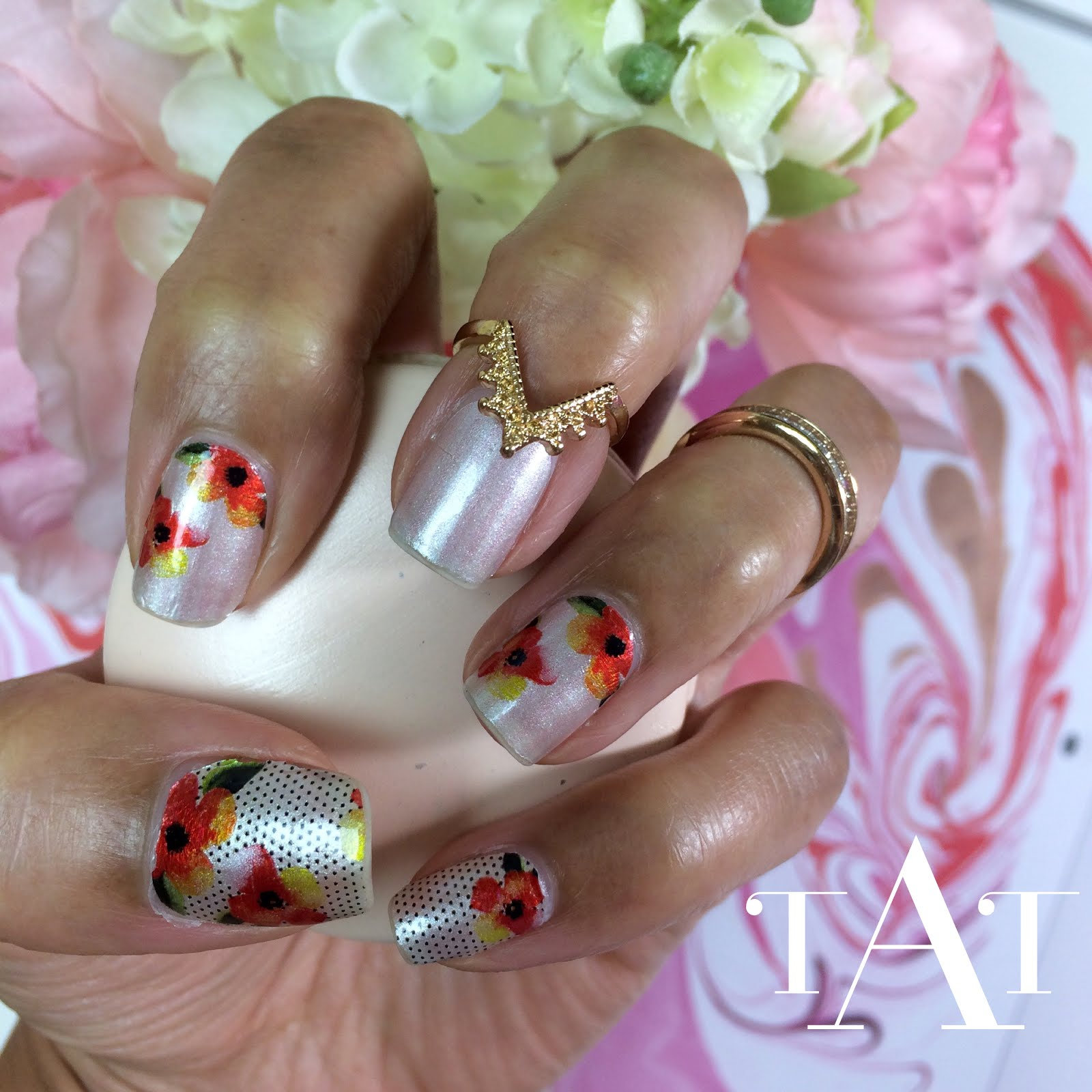 Coconutty Nail Art! | Amber\'s Trendy Thoughts!