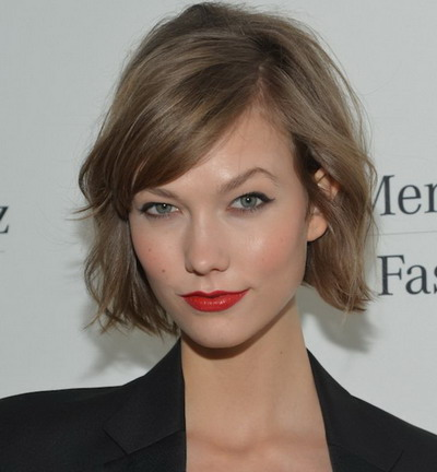 Trendy Short Bob Hairstyles 2013 Karlie