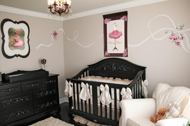 Parisian Baby Nursery Design Pictures Remodel Decor And