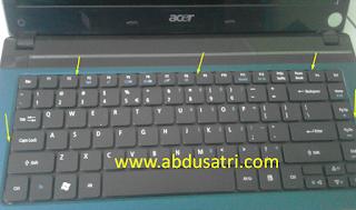 Cara Bongkar Keyboard Laptop Acer dengan Mudah