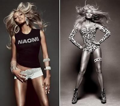 Naomi Cambell Vogue cover