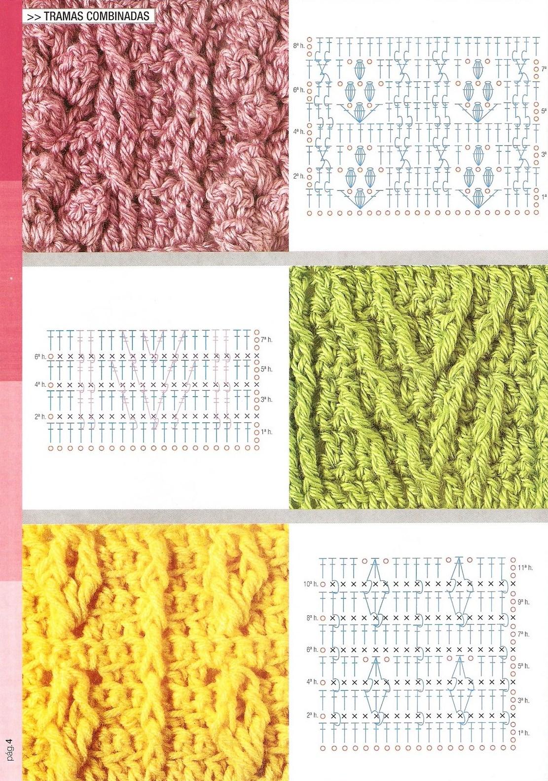 Atractivo Patrón Cruzado Crochet Libre Patrón - Ideas de Patrones de ...