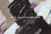 Choc fudgy and moist brownies