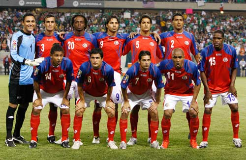 Costa Rica Squad for Gold Cup 2013