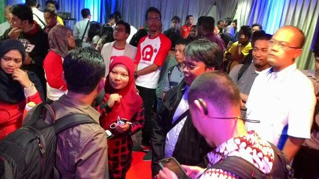 saya bersama dengan beberapa blogger lain se-Jabodetabek menghadiri perayaan hari jadi Indosat dengan tema 47 Tahun Inovasi untuk Negeri