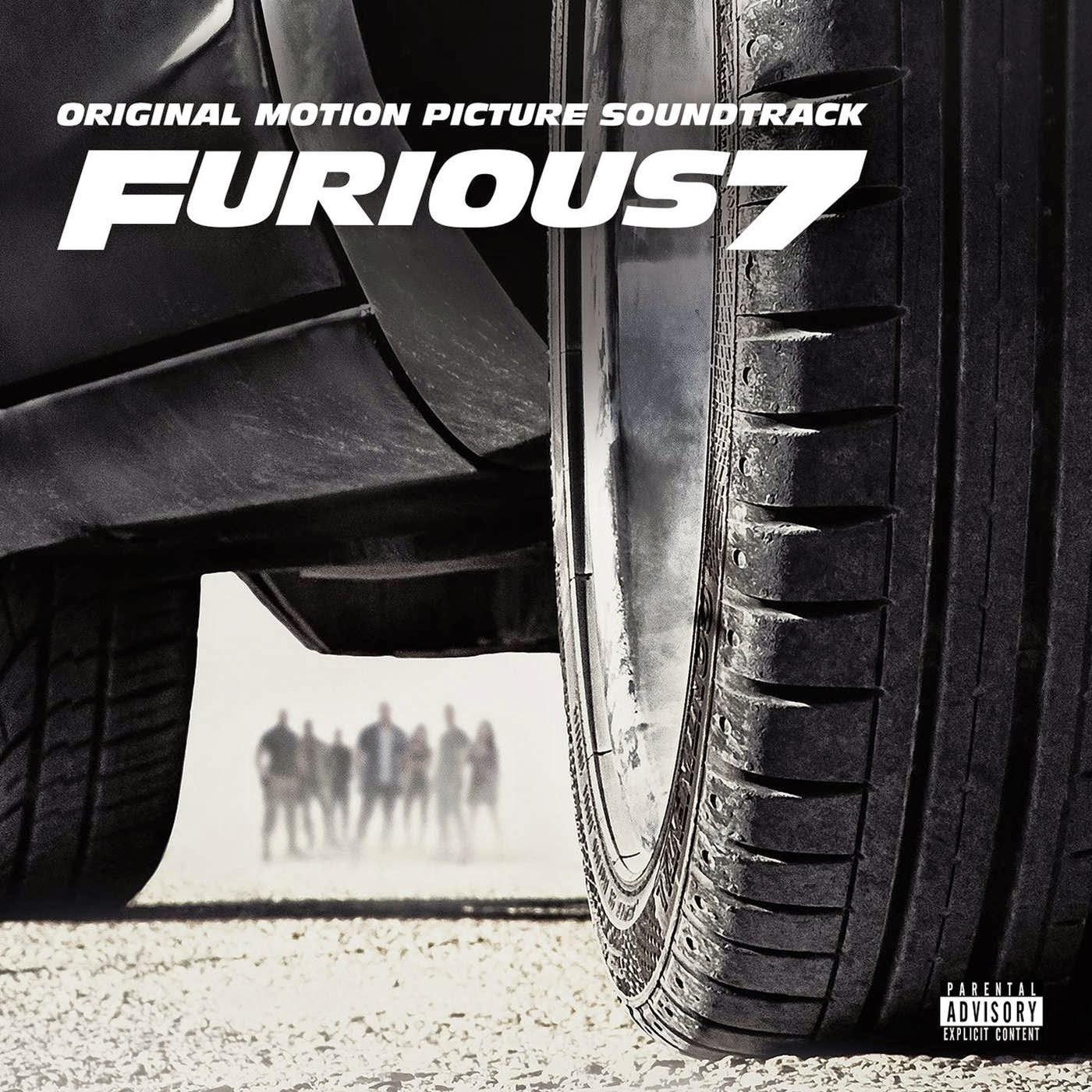Various Artists - Furious 7 (Original Motion Picture Soundtrack) Cover