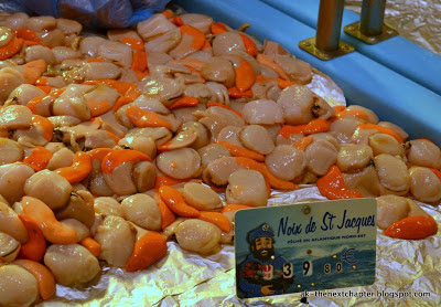 Scallops in France - ak-thenextchapter.blogspot.com