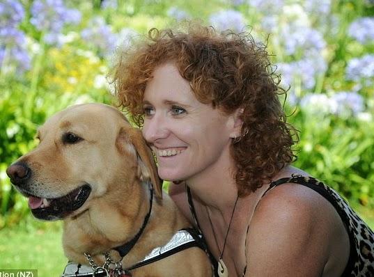 lisa reid blind woman
