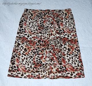 Быстрое шитье, прямая короткая юбка из трикотажа, на резинке