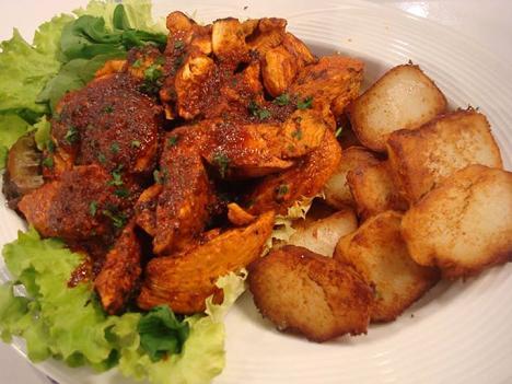 Pechugas de pollo con chile como cocinar pollo for Como cocinar filetes de pollo