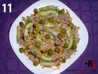 Recetas de cocina: Ensalada mediterránea - Paso 11