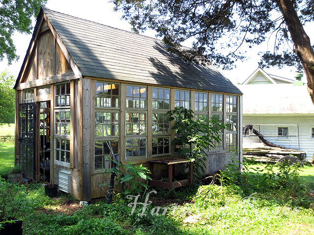Cute Little Greenhouses Relocated a Cute Little