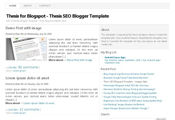 thesis-SEO-blogspot-template