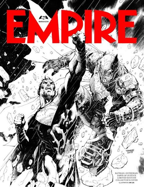 Empire dedica un portada ilustrada a 'Batman v Superman: El amanecer de la Justicia'