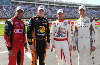 Dash for Cash Drivers, Wallace Jr., Dillon, Smith, and Suarez