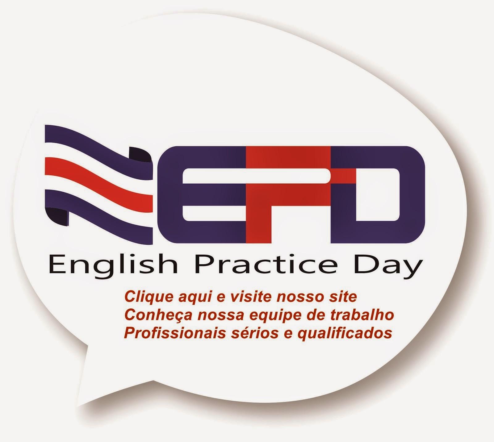 Clique Aqui e visite a página EPD - English Practice Day