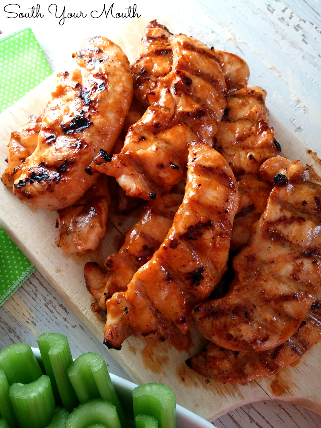 Buffalo Feathers Are Grilled Chicken Tenders Sauced Like Wings Similar To Wild Wing