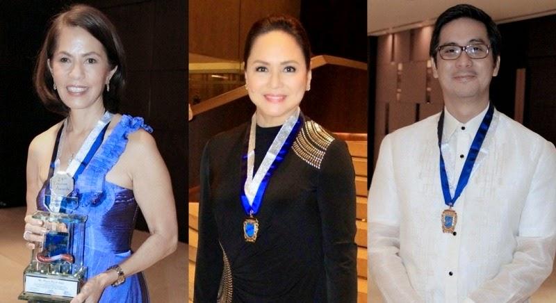 Gina Lopez, Charo Santos-Concio, Laurenti Dyogi