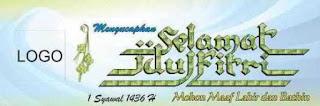 Download Spanduk Selamat Idul Fitri 1436 H