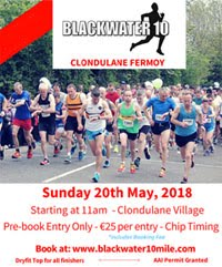 Blackwater 10 mile nr Fermoy... Sun 20th May 2018